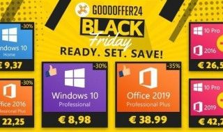 Black Friday : Windows 10 Pro à 8,98€ et -35% sur Microsoft Office 2019