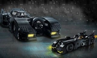 LEGO lance sa plus grande version de la Batmobile de Tim Burton