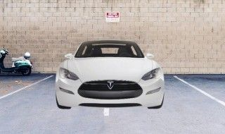 Les Tesla se garent très très mal en parking automatique...