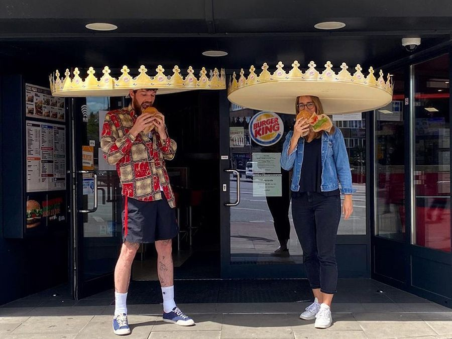 Burger King imagine un Whopper très spécial pour faire respecter la distanciation sociale #2