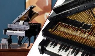 LEGO imagine un piano fonctionnel et contrôlable via un smartphone